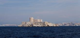 Górskiej chaty d'if blisko Marseille Zdjęcia Royalty Free