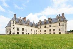 Górskiej chaty de Amboise średniowieczny kasztel w Loire dolinie zdjęcia royalty free