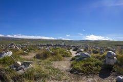 Góruję zrobił kamienie w Norwegia Zdjęcia Stock