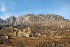 Góruje Ingushetia Antyczna architektura i ruiny Obraz Royalty Free