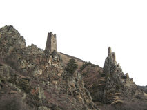 Góruje Ingushetia Antyczna architektura i ruiny Obraz Stock