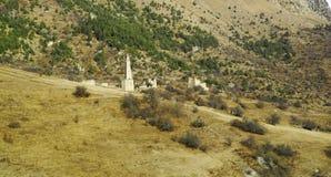 Góruje Ingushetia Antyczna architektura i ruiny Fotografia Stock