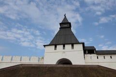Góruje Kazan Kremlin Tatarstan Rosja zdjęcie stock