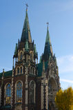 Góruje kościół St Elisabeth Zdjęcie Stock