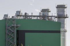 Góruje odparowywanie termiczna elektrownia Obrazy Royalty Free