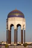 Góruje przy rondem w muszkacie, Oman Zdjęcie Royalty Free