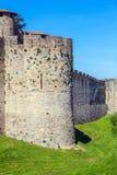 Góruje Średniowieczny kasztel, Carcassonne Obrazy Royalty Free