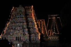 Góruje srirangam tamilnadu ind świątynnych Obrazy Royalty Free