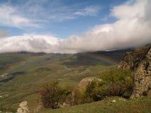 Piękny góra krajobraz Zdjęcie Stock