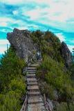 góry ścieżka zdjęcie stock