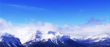 góry śnieżne Zdjęcie Stock