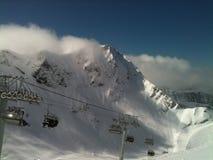 góry śnieżne obraz royalty free