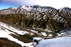 góry śnieżne zdjęcia stock