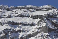 góry śnieżne pokrycia Obrazy Stock