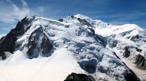 góry śnieżne pokrycia Obraz Stock