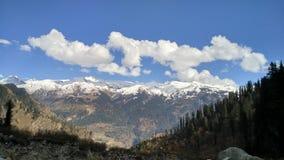Góry śnieżny Himachal Pardesh Obrazy Royalty Free