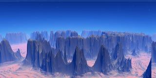 góry royalty ilustracja