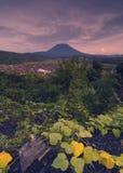Góry Agung wulkan Fotografia Royalty Free