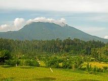 Góry Agung wulkan Bali 02 Zdjęcie Stock