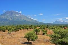 Góry Agung wulkan Bali 03 Fotografia Royalty Free