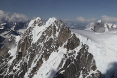 Góry Alaska obraz royalty free