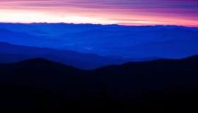 góry appalachian Zdjęcia Royalty Free