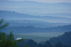 góry appalachian fotografia stock