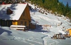 góry arywista schronienia Fotografia Royalty Free