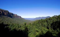 góry błękitny park narodowy Zdjęcia Stock