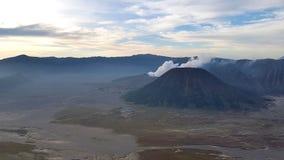 Góry Batok widok Zdjęcia Royalty Free