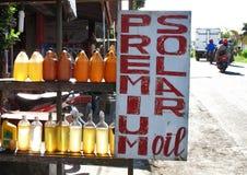Góry Batur Benzynowa stacja Bali 02 Obraz Royalty Free