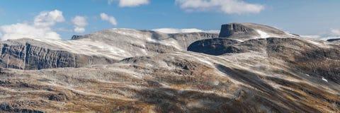 Góry Blafjellet i Sathornet Fotografia Royalty Free