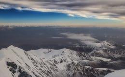 Góry blisko od Lenin szczytu Zdjęcia Stock