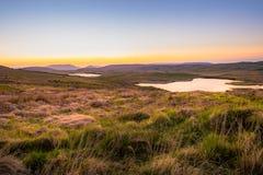 Góry blisko Oughterard, Co Galway obraz stock