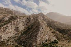 Góry blisko Starego baru, Montenegro zdjęcia stock