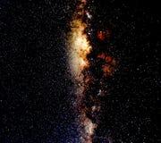 Góry Bromo gwiazda Zdjęcie Royalty Free