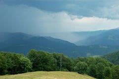 góry burza Obraz Royalty Free