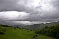 góry burzowe Obrazy Royalty Free