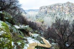Góry cappadocia -04 Zdjęcia Royalty Free