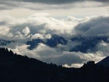 Góry chmura Zdjęcie Stock