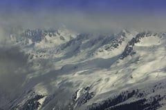 Góry chmury warstwa Zdjęcia Royalty Free