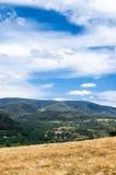 Góry Chynadiyovo Zakarpattia Ukraina Obrazy Royalty Free