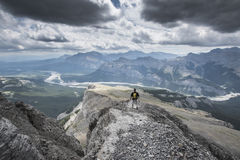 Góry czerni skała Zdjęcia Stock