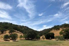 Góry Diablo stanu park w Walnut Creek w Kalifornia obrazy royalty free