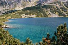 Góry, dolina pięć jezior, Polska, Zakopane Fotografia Stock