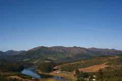 góry dolinne Fotografia Royalty Free