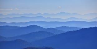 Góry dolinne Obrazy Stock