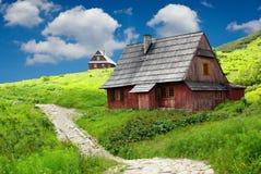 góry domowy schronienie Zdjęcie Stock