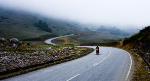 Góry droga Fotografia Royalty Free
