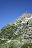 góry droga Switzerland Obraz Royalty Free